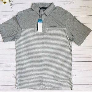 Travis Mathew Shirts - Heather Grey Travis Matthew polo shirt